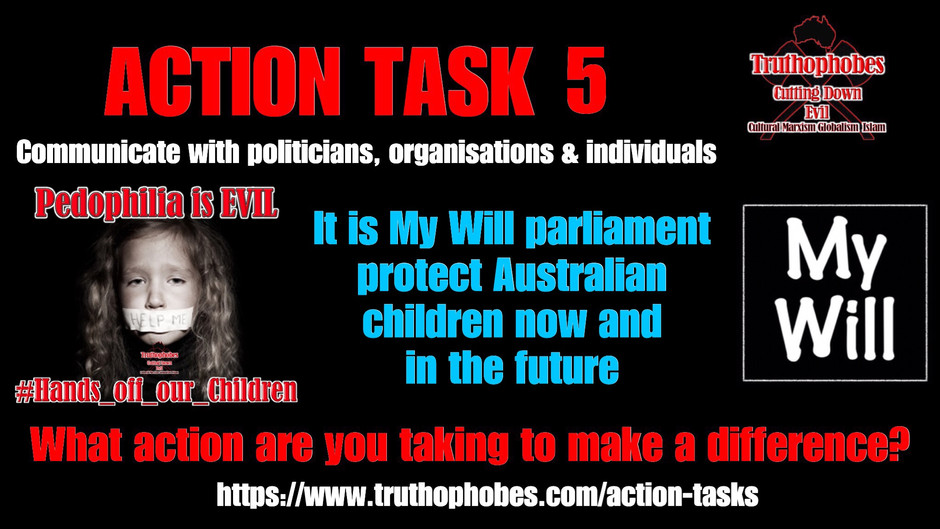 Speak Up Against Paedophilia