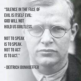 Speak up against Evil
