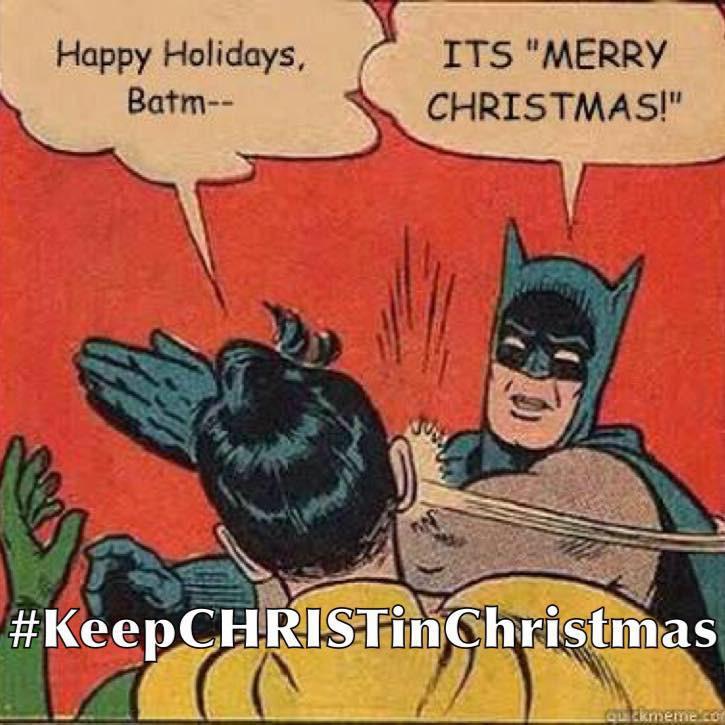 #KeepCHRISTinChristmas