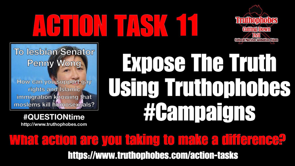 CALL TO ACTION - Expose The Truth By Asking Questions