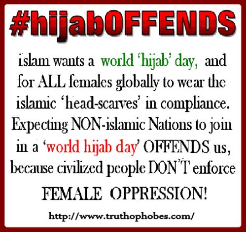 #hijabOFFENDS