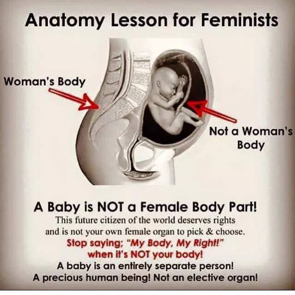 Left Wing Feminists Support Baby Killing