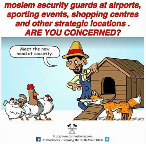 My Will - Moslem security Guards