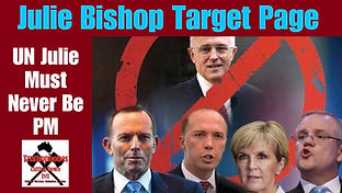 Julie Bishop, UN julie, #AusEXIT,  #Fight-GLOBALISM