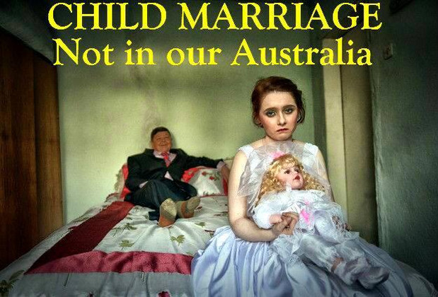 Child marriage not in Australia