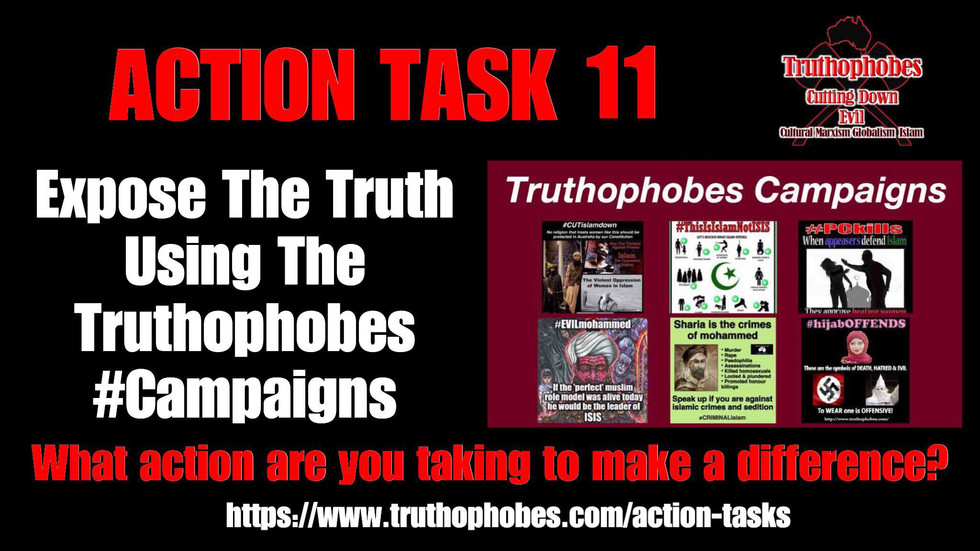 Take Action Using The Truthophobes #Campaigns