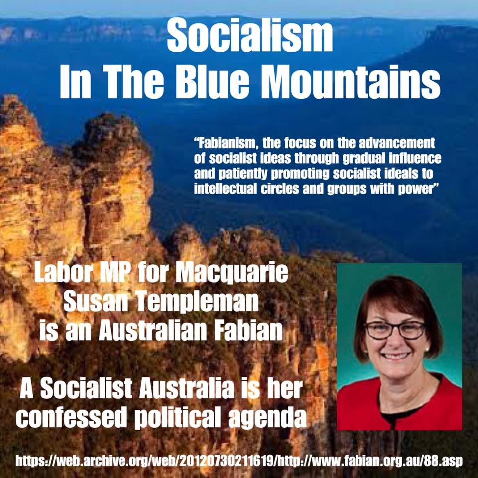 Help Protect The Beautiful Blue Mountains From Socialism