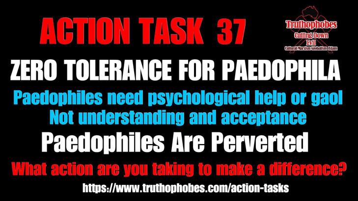 Zero Tolererance for Paedophiles