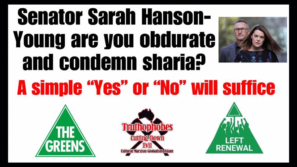 GO ON THE OFFENSIVE THIS ELECTION - Question political candidates about where they stand with Islam.
