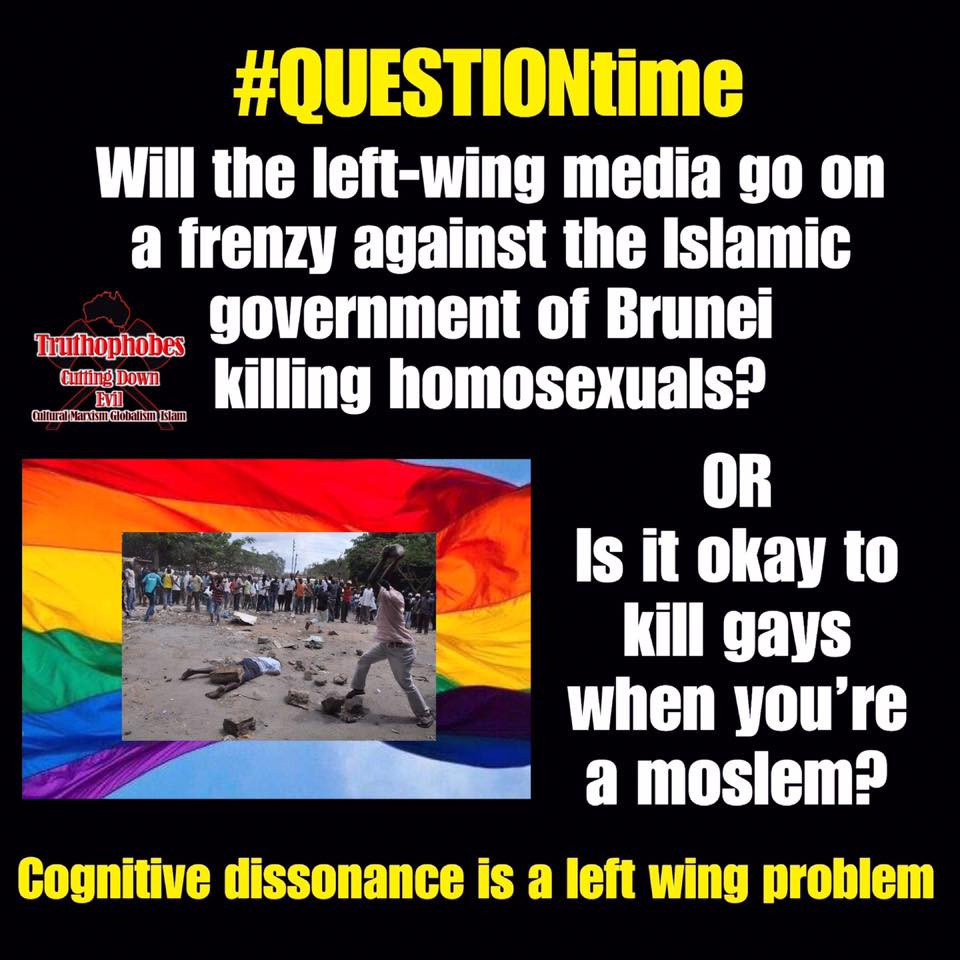 Left Wing Cognitive Dissonance