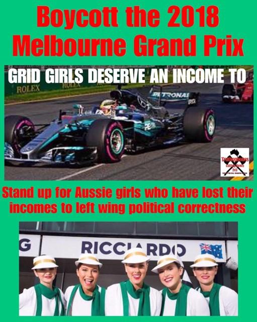 SPEAK UP FOR GRID GIRLS