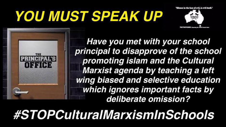 Stop Marxists Promoting Islam in Schools