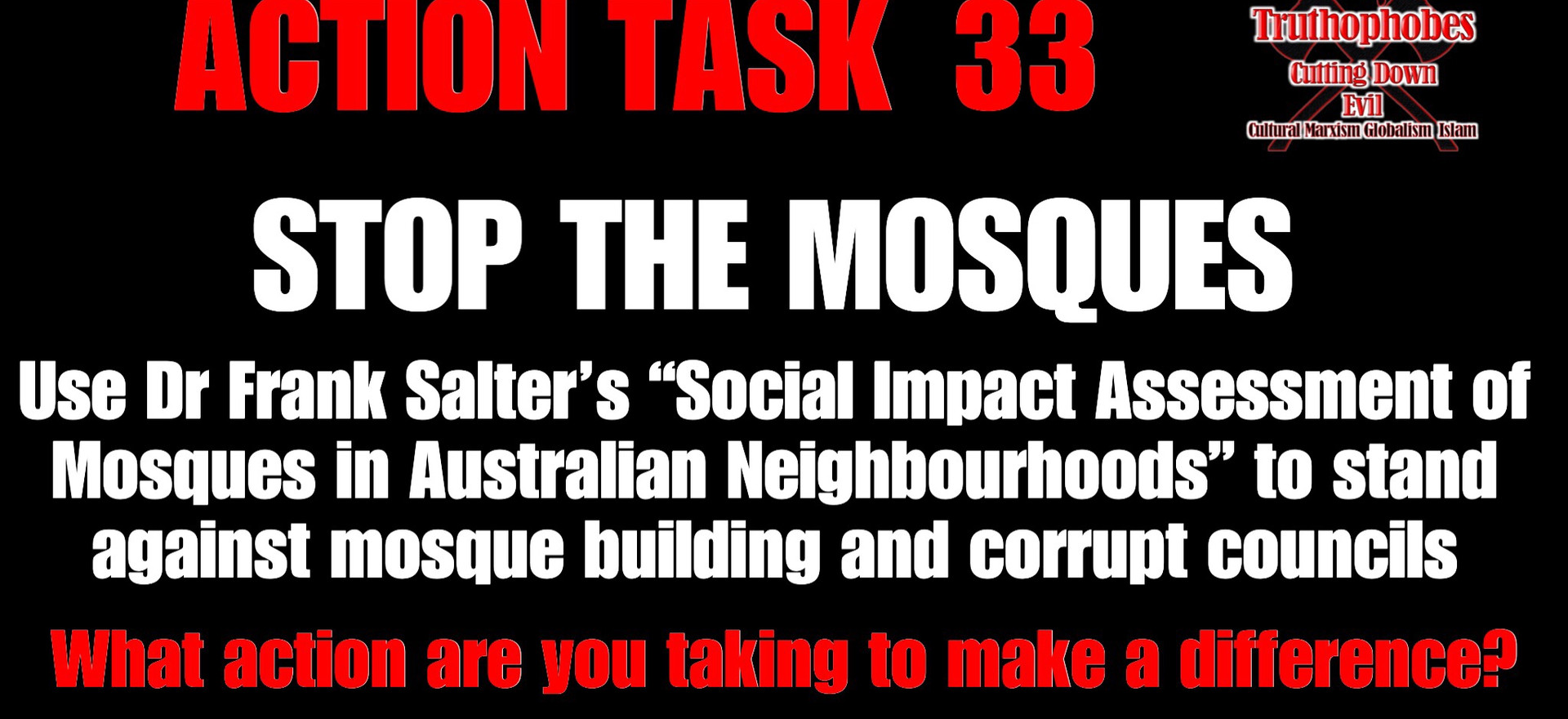 STOP THE MOSQUES