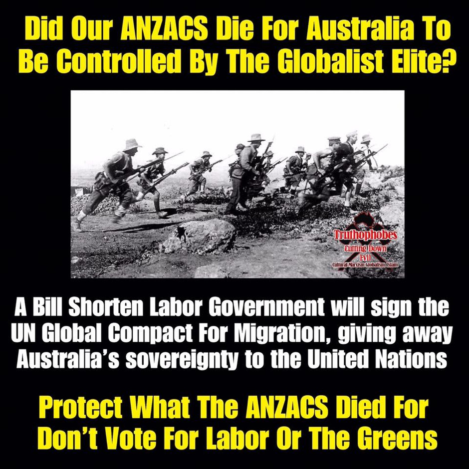 DON'T VOTE AWAY AUSTRALIA'S SOVEREIGNTY