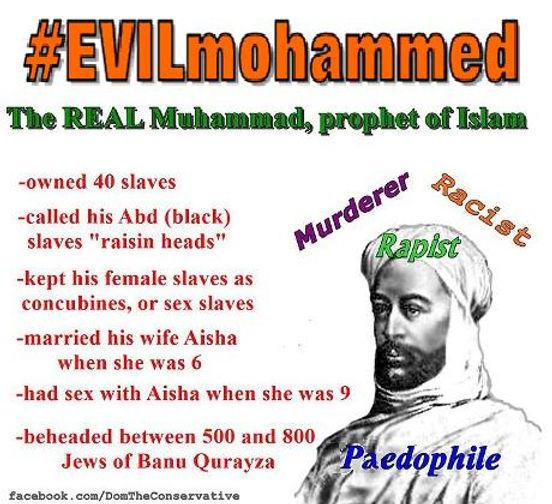 Exposing Evil Mohammed   Australia   Truthophobes:Cutting