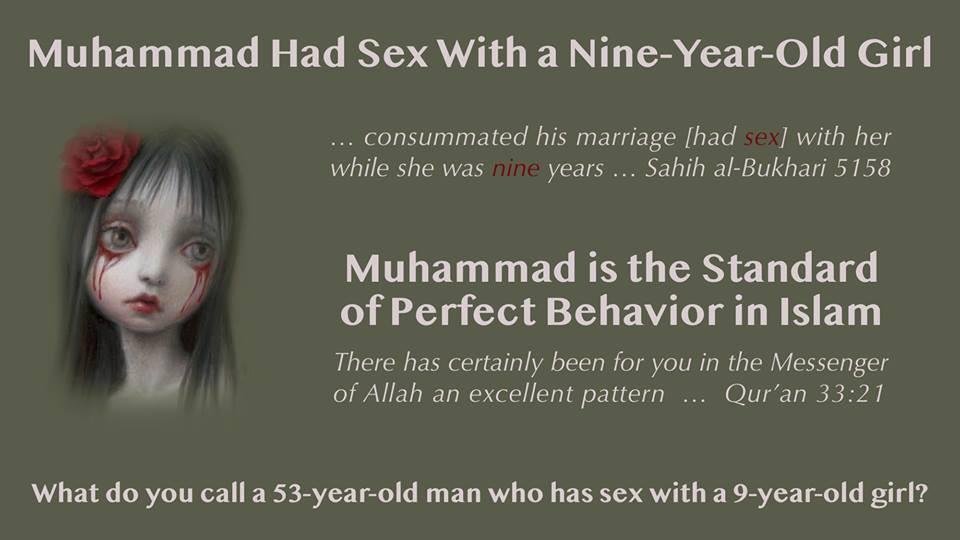 Islamic Paedophilia