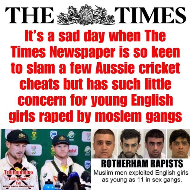 SHAME TO THE BRITISH MEDIA