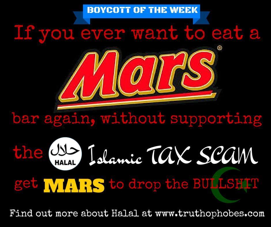 #BOYCOTTofTheWEEK MARS