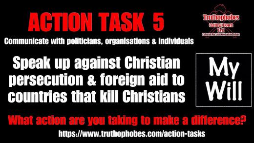 Speak Up Against Christian Persecution