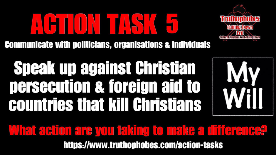 Speak Up Against Christian Persecution