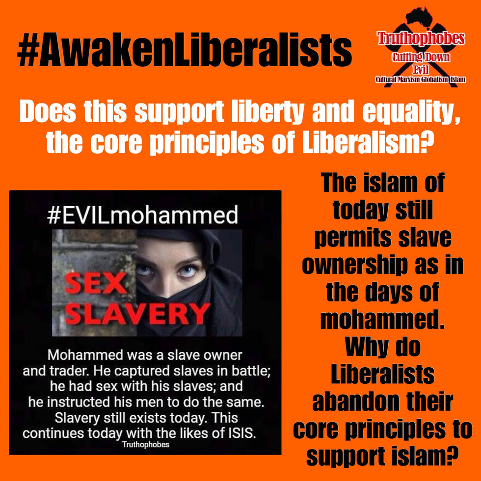 Does Liberalism support Islamic Slavery
