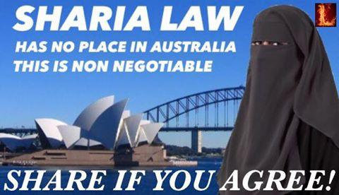 No Sharia in Australia