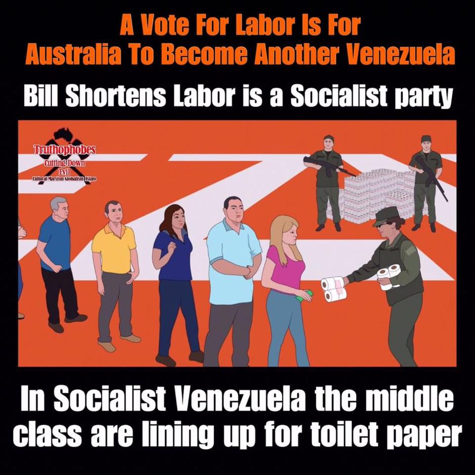 AUSTRALIA TO BECOME ANOTHER VENEZUELA