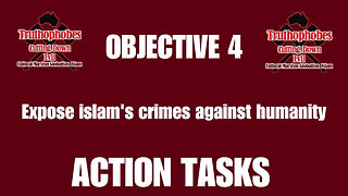 Objective 4 Action Tasks