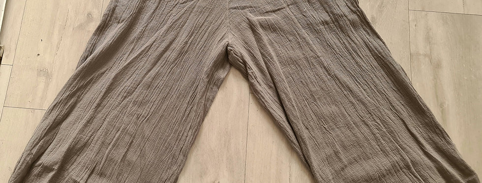 Pantalon large 3/4