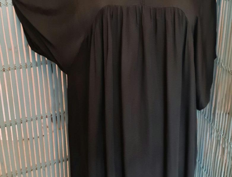 Robe longue avec dentelles