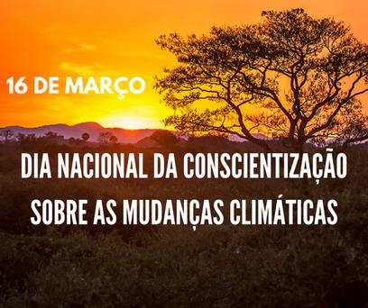 Dia Nacional da Conscientização sobre as Mudanças Climáticas