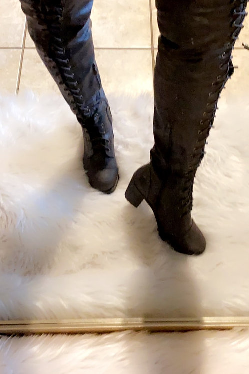 Lace Me Up Brown Boots