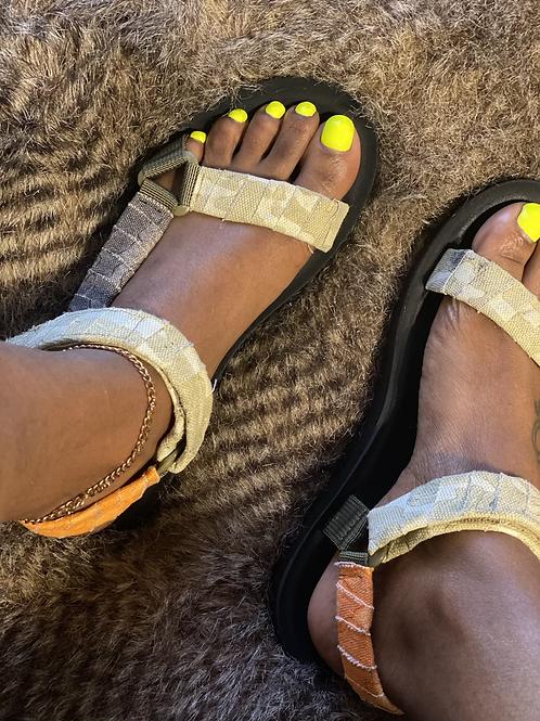 Mix Camo Sandals