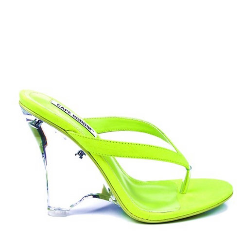 Limey with Clear Wedge