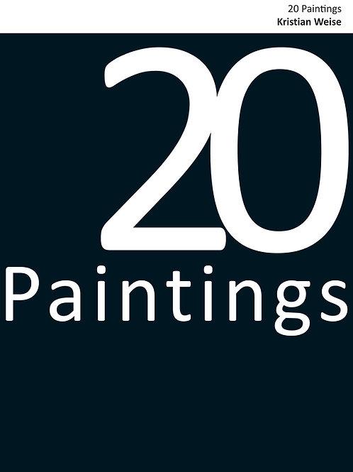 20 Paintings - Kristian Weise