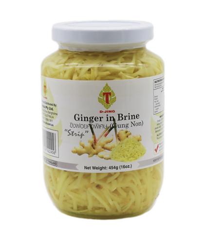 Ginger Pickled Strip 'D-Jing' 454g