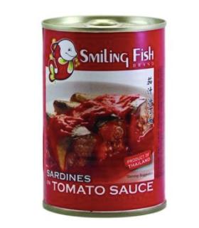 Smiling Fish Sardines in Tomato