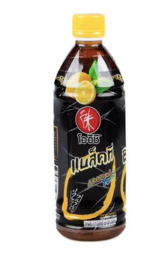 Oishi Black Lemon Tea 500ml