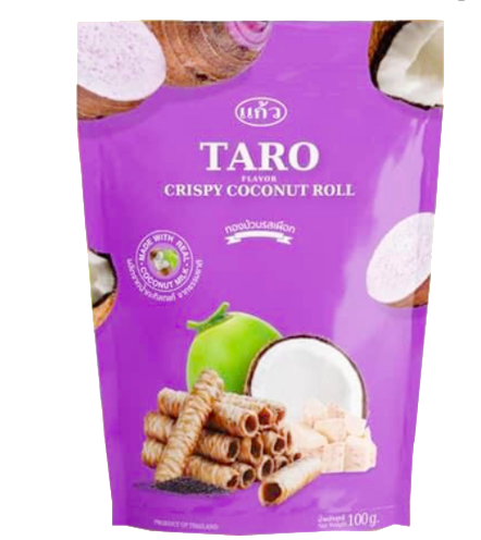 "Coconut Roll ""Taro"""