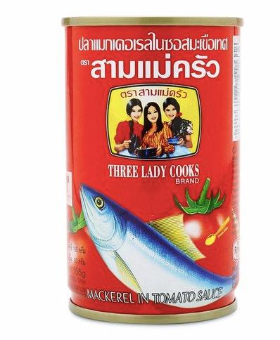 "Mackerel in Tomato sauce ""Three Lady Cooks"""