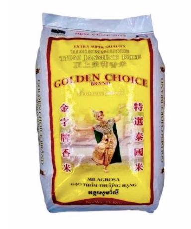 Golden Choice Rice 25kg
