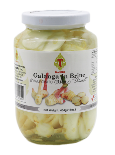 Galanga Pickled Slice 'D-Jing' 454g