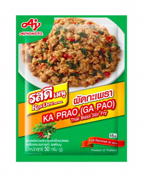 RosDee Ka Prao Ga Pao Seasoning