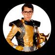 Nate Silva (Ranger Dorado) - Power Range