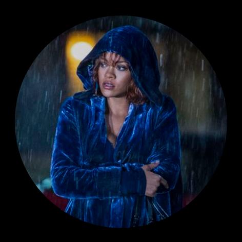 Marion Crane (Rihanna) en Motel Bates..p
