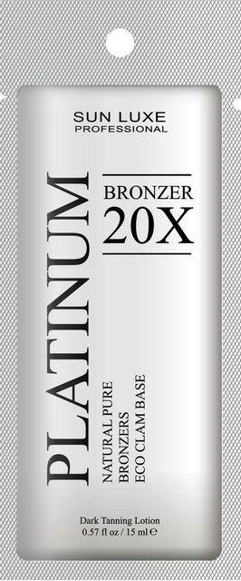 Platinum bronzer 20х Bronzer, 15 мл.