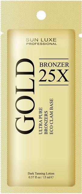 Gold bronzer 25х Bronzer, 15 мл.