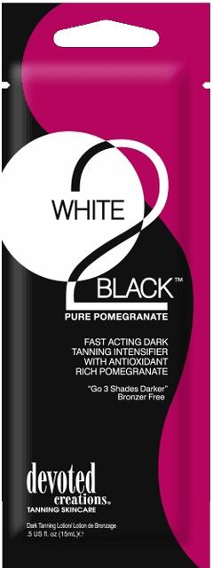 White 2 Black Pure Pomegranate