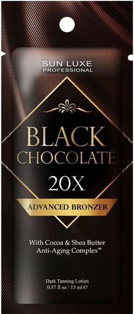 Black chocolate 20х Bronzer, 15 мл.