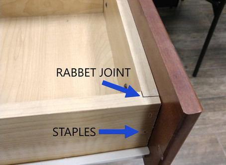 What are dovetail drawers?
